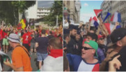 """""""Stand up for the French Police"""" : les supporters français et belges (aussi) s'y mettent (29/06)"""