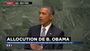 """COP21 : Obama veut """"éviter aux enfants de subir cette catastrophe climatique"""""""
