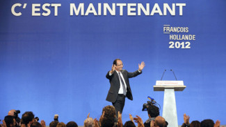 Fran&ccedil;ois hollande meeting lorient