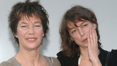 Jane Birkin et sa fille Kate Barry, en mai 2007 à Paris.