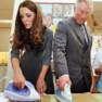 Kate Middleton repasse avec son beau-père le prince Charles en 2012