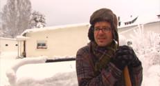 Le 13 heures du 1 février 2015 : Chutes de neige dans les Hautes-Pyrénées : même les habitués ont été surpris - 479.30899999999997
