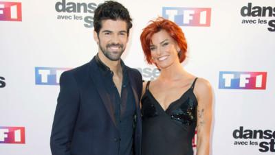 Miguel Angel Munoz et Fauve Hautot lors de la conférence de presse de lancement de la saison 5 de Danse avec les Stars