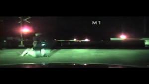 Un policier a sauvé une femme in extremis d'un train