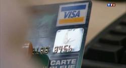 Une carte bancaire.