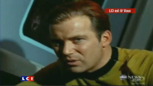 William Shatner dans la série Star Trek