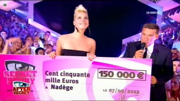 Nadge remporte l&#039;aventure et les 150 000 euros ! 