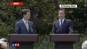 La conférence de presse Cameron-Clegg en intégralité
