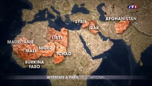 Le point sur les déploiements de l'armée française à l'encontre des mouvements islamistes depuis 15 ans