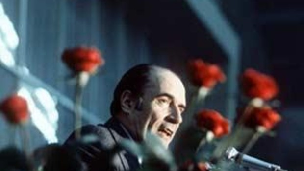 Mitterrand rose