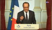 """Prêtre égorgé : Hollande demande """"d'éviter les surenchères, les amalgames et les suspicions"""""""