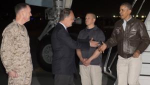 Barack Obama en visite surprise aux soldats basés en Afghanistan