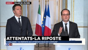"""Hollande : """"Détruire Daech doit être notre objectif"""""""