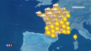 La météo du jeudi 27 août : pluies dans le nord, grand soleil sur la moitié sud-est