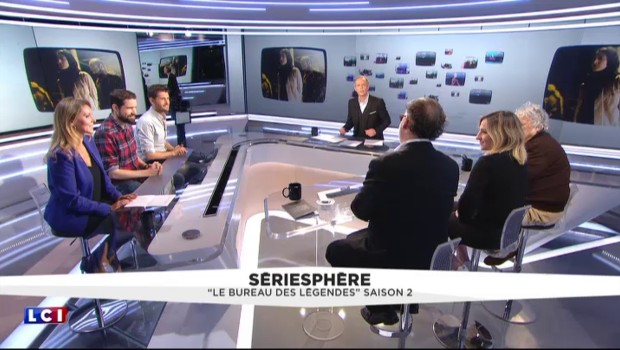 """La série """"Le Bureau des Légendes"""" vendue presque partout en Europe"""
