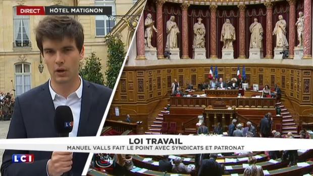 Loi Travail : Manuel Valls fait le point avec syndicats et patronat