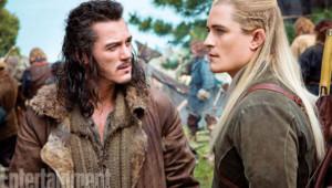 Orlando Bloom et Luke Evans dans Le Hobbit : histoire d'un aller et retour
