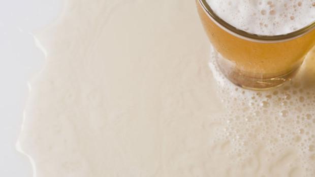 Une pinte de bière