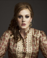 Adele - NRJ Music Awards 2012. Nomine dans la catgorie Rvlation Internationale de l&#039;anne et dans Chanson Internationale de l&#039;anne pour son tube &quot;Someone like you&quot;.