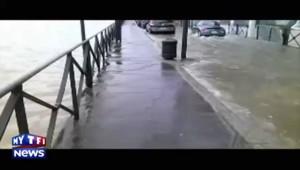 Bayonne sous les eaux : les images d'un internaute