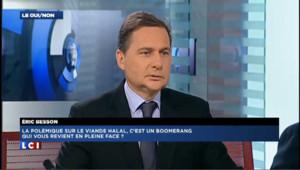 """Besson : """"Je n'aurais pas choisi les mots de Claude Guéant"""""""