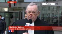 L'avocat de Cntinental Airlines, Maître Metzner se dit consterné par le jugement dans l'affaire du crash du Concorde. Selon lui, le patriotisme français a été privilégié au droit.
