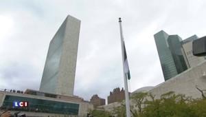 Etats-Unis : le drapeau palestinien hissé sur le fronton de l'ONU à New York