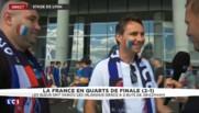 France - Irlande : à la sortie du stade lyonnais, les supporters heureux et soulagés