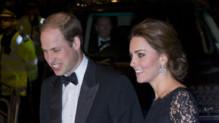 Kate et William au London Palladium theatre