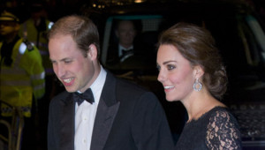 Kate et William au London Palladium theatre