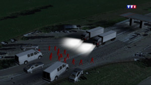 Le 20 heures du 11 mars 2015 : Braquage de l'autoroute A6 : le scénario digne d'un film de gangster - 913.5840000000001