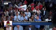 """Manuel Valls : """"Respectons nous ! Les Français nous regardent"""""""