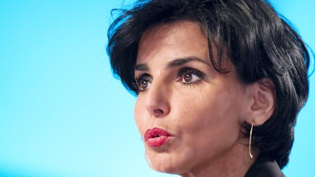 Rachida Dati sur le plateau du Grand Journal, le 30 janvier 2012.