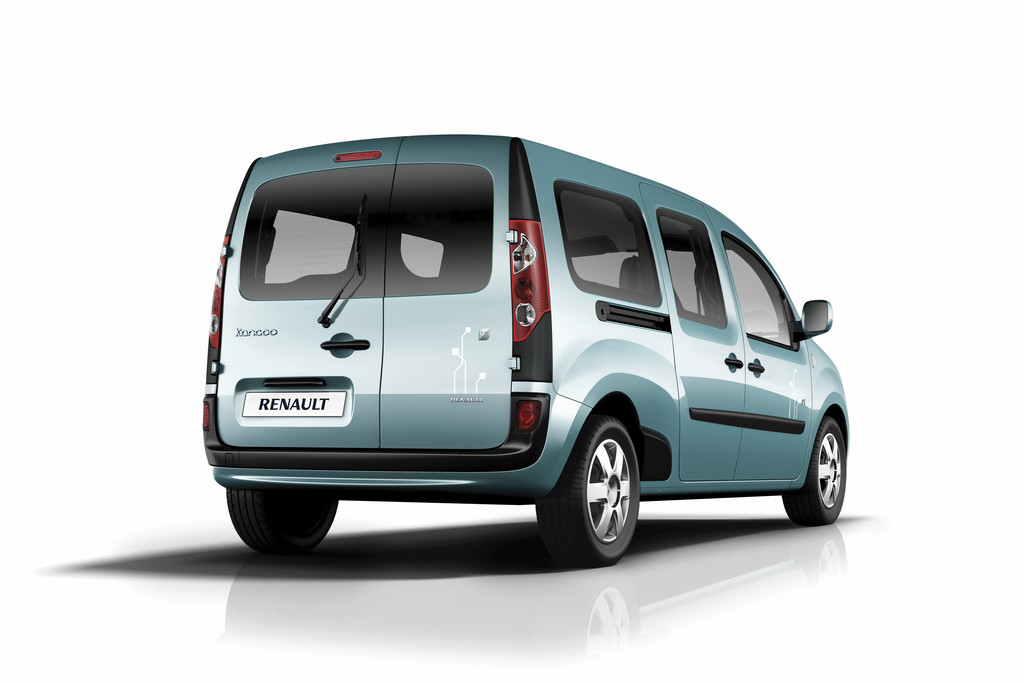 photos automoto renault kangoo z e 2011 le ludospace lectrique mytf1. Black Bedroom Furniture Sets. Home Design Ideas