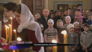 Russie Poutine Noël