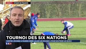 """Tournoi des six nations :""""Les Français seront favoris face à l'Ecosse"""""""