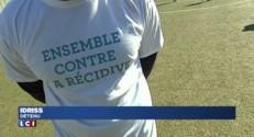 Domenech, entraîneur des détenus de la prison de Lyon