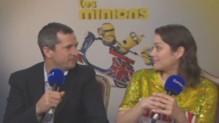 Guillaume Canet et Marion Cotillard sur Europe 1