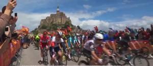 Tour de France : coup d'envoi au Mont-Saint-Michel