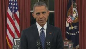 Barack Obama s'exprime depuis le bureau ovale (07/12)