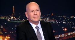 Bruce Willis sur le plateau du 20h de TF1