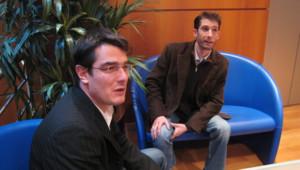 Bruno Waitzmann et Olivier Casado, directeur général et directeur commercial de Comintoo