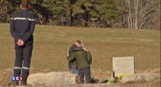 Crash de l'A320 : une stèle près des lieux du drame