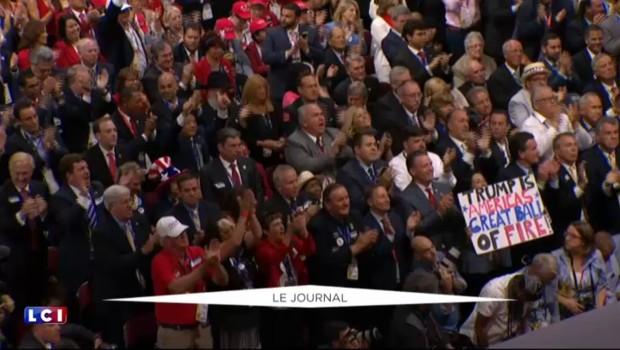 Donald Trump se pose en défenseur de la cause gay lors de son discours d'investiture républicaine