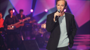 Le chanteur Jean-Jacques Goldman en 2001.