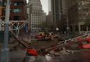 New York après le passage de l'ouragan Sandy.