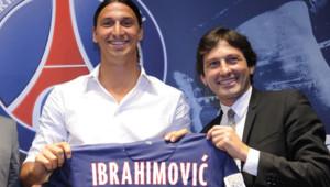 Zlatan Ibrahimovic le 17 juillet 2012