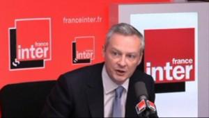 Bruno Le Maire sur France inter (9 avril 2013)