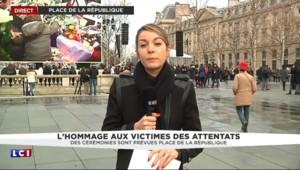 """Hommage place de la République : Johnny Hallyday chantera une """"très très belle chanson"""""""