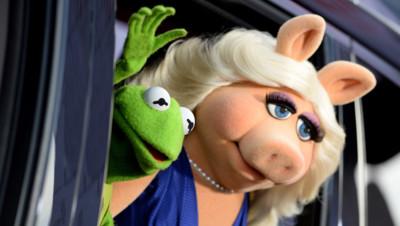Kermit la grenouille et Peggy la cochonne